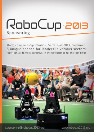 Sponsorbrochure RoboCup 2013